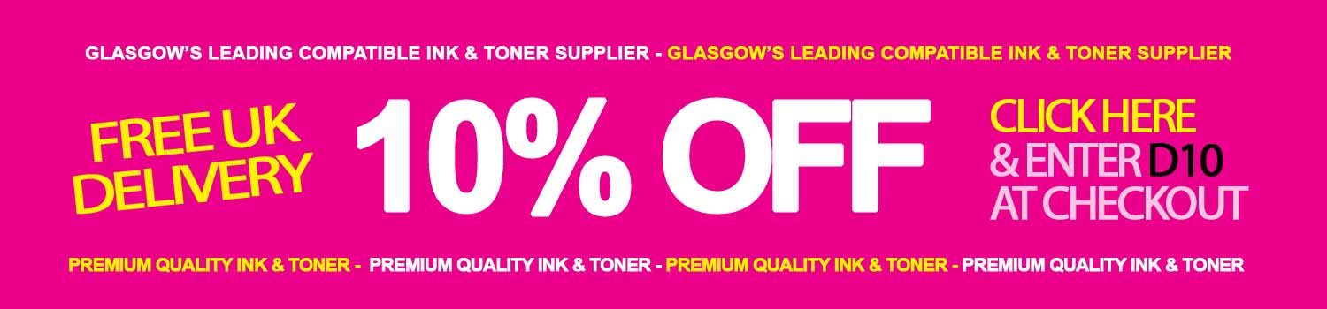 Glasgow printer ink