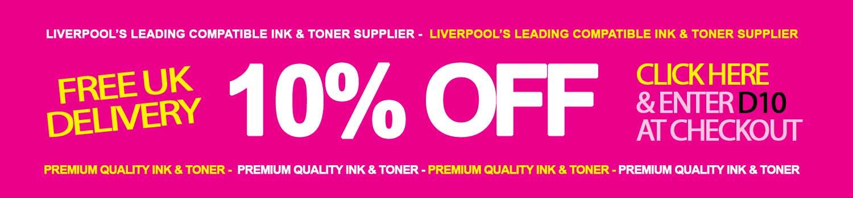 Liverpool printer ink shop