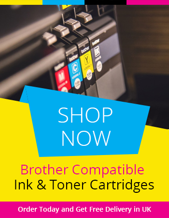 Shop Online Brother Compatible Ink Cartridges in UK