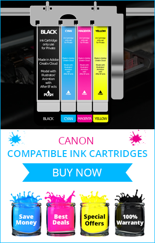 Shop Online Canon Compatible Ink Cartridges in UK